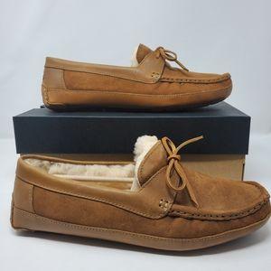 Ugg Bryon Chestnut Mens 12 Slip on Slippers